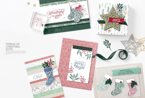 Unfrogettable Stamping | Tidings of Christmas product Suite from Stampin' Up!