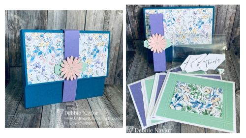 Unfrogettable Stamping | Hand Penned Gift Box and card set