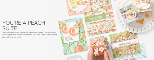 Unfrogettable Stamping | You're a Peach product suite from Stampin' Up!