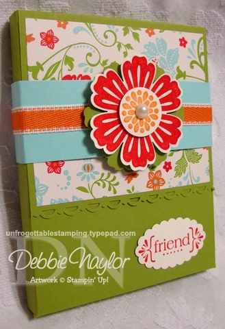 March 2012 Simply Scored gift box and note card set tutorial