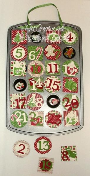 Week 6 Christmas Countdown tutorial