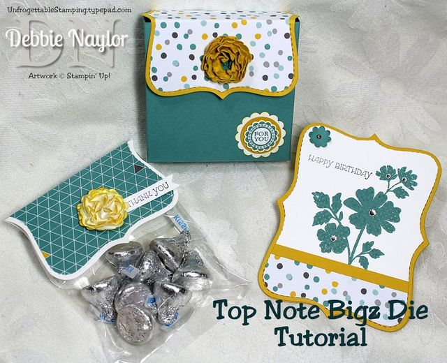 Top Note bigz die tutorial - June 2014